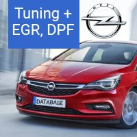 Opel - Tuning, DPF, EGR ECU files