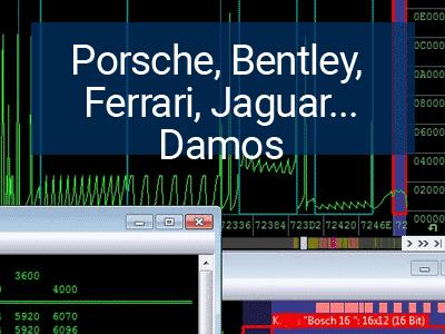 Porsche, Bentley, Ferrari, Jaguar, Maserati, McLaren, Lamborghini Damos for WinOLS