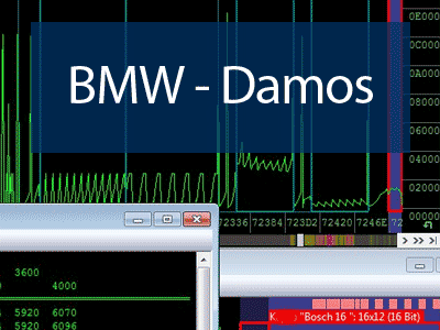 Database of BMW DAMOS for WinOLS