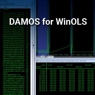Damos and map packs for WinOLS