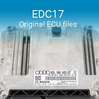 EDC17 original ECU files