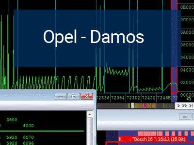 Opel Damos for WinOLS