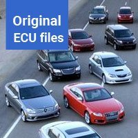Database of original ECU files