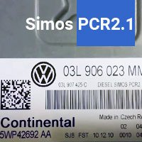 Simos PCR 2.1 ECU files database