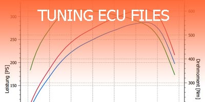 Tuning ECU files packet