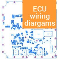 ECU wiring diagrams